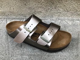 RIO BIRK ARIZONA ELECTRIC METALLIC:Taupe
