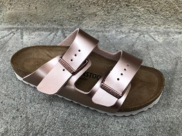 BIRKENSTOCK ARIZONA ELECTRIC METALLIC<br>