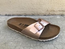 BIRKENSTOCK MADRID ELECTRIC METALLIC<br>