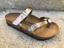 BIRKENSTOCK MAYARI ELECTRIC METALLIC<br>