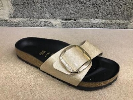 MADRID BIG BUCKLE GLITTER<br>Or